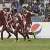 صور من لقاء النهائي بين السعودية و قطر