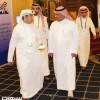رئيس الاتحادين العربي والآسيوي للرياضات الجوية يزور المركز الإعلامي