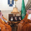 بن مساعد يستقبل رئيس الاتحاد السعودي للرياضات
