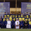 بالصور | رئيس النصر يستقبل رئيس الاتحاد القطري لكرة القدم