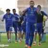 نجوم النصر من التدريب للملعب لمساندة المنتخب