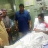 نقل لاعب مصاب بسيارة خاصة بسبب غياب إسعاف الهلال الأحمر