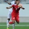 صور من مباراة السعودية والبحرين