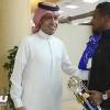 الحميداني وجماهير غفيرة يستقبلون الشمراني في مطار الرياض