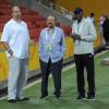 الرئيس العام يجتمع برئيس واعضاء إتحاد القدم