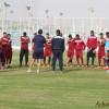 بالصور | الفيصلي يبدأ تدريباته على ملعب بني ياس بقيادة ديمول