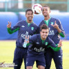 بالصور : الأهلي يناور الأولمبي و الموسى يشارك في التدريبات