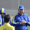 بالصور : مناورة كروية و إجازة يومين للاعبي النصر