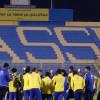 بالصور : النصر يستأنف تدريباته وداسيلفا يجتمع باللاعبين