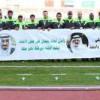 اعضاء المنتخب الاولمبي في وقفة وفاء قبيل مواجهة الامارات
