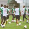 راحة للاعبي الأهلي بعد مناورة مع الفريق الأولمبي انتهت بستة أهداف لهدفين
