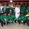 بعثة الأخضر الأولمبي تصل إلى الرياض والنويصر يهنئ اللاعبين