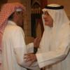 بالصور   الأمير خالد بن عبد الله يتلقى التعازي في فقيد الأمة الكبير
