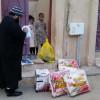 خيرية القريات توزيع معونات على أسر السجناء