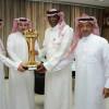 عيد يستقبل مسئولي المنتخب الأولمبي بعد تحقيق الخليجية