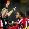 إلغاء بطاقة حمراء للاعب أيندهوفن بعد اعتراف الحكم بالخطأ