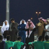 بالصور : الشرفيون و المكافأت يحفزون العروبة للدور الثاني