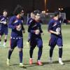 بالصور | هجر يستأنف تدريباته ونيبوشا يشرح للاعبين أخطاء مباراة الأهلي