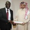وزير الرياضة الغاني يزور اللجنة الأولمبية العربية السعودية