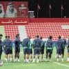 بالصور : مناورة تكتيكية تجهز الأهلي للقاء أهلي دبي آسيوياً