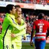 برشلونة يفوز على غرناطة بثلاثية