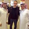 بالصور : وصول مدرب الهلال اليوناني دونيس إلى الرياض