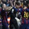 ميسي وسواريز يقودان برشلونة لسحق فايكانو وانتزاع الصدارة