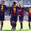 سواريز يقود برشلونة للفوز على لاس بالماس
