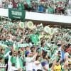 جماهير الاهلي تشكر لاعبيها و تردد نشيد النادي