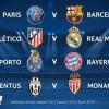 مواجهات متوازنة وديربي مدريد في قرعة دوري أبطال أوروبا