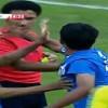 بالفيديو : لاعب شباب الهلال يتهجم على حكم لقاءه أمام النصر