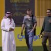 بالصور : ممثل فريق تقييم متطلبات مستقبل الكرة السعودية يزور النصر