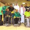 منتخب قوى المملكة للاحتياجات الخاصة يصل الرياض
