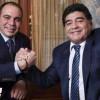 مارادونا يدعم علي بن الحسين في إنتخابات رئاسة الفيفا