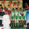 اخضر الدراجات يحقق برونزية العرب للمطاردة