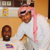 الشبابيون يحتفلون بنجاح عملية وليد عبدالله