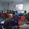 الزويد يقدم محاضرة في قانون كرة القدم لحكام حواري الأحساء