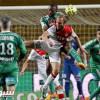 تعادل موناكو وسانت اتيان بهدف لمثله في الدوري الفرنسي