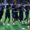 بالصور   الفتح يستأنف تدريباته ومشاركة البحريني في لقاء الاتحاد غير مؤكدة