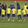 بالصور : النصر ينهي إعداده لبونيودكور ومجلس الجماهير يعرض المباراة في النادي