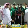 بالصور : العروبة يحتفي بالصحابي ويضمه لمكافآت الفوز