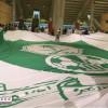 جماهير الأهلي تجهز أكبر علم لمباراة الفتح في الجوهرة