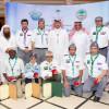 بالصور والفيديو الأمير تركي بن مقرن يكرم الفائزين بمسابقة الرسم الجوية العربية