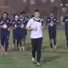بالصور : هجر يستبدل مواجهة نجران بمران على ملعب النادي