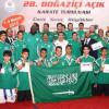 اخضر الكاراتيه يصل الرياض بعد تحقيقه وصافة بطولة البسفور