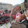 أكثر من 15 ألف مشجع في إحتفالات بايرن ميونيخ باللقب