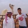 """بالصور : مشجع الاهلي بن عصاي يفي بوعده ويهدي السومة """" الملكية """""""