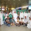 بالصور ..استقبال حافل في مطار الرياض للفريق الوطني الفائز في مسابقة آيتكس