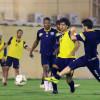 بالصور : مناورة فنية تجهز التعاون قبل لقاء النصر