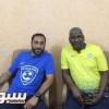 بالصور : ماجد و سامي يؤكدان في صورة واحدة : إحنا حبايب